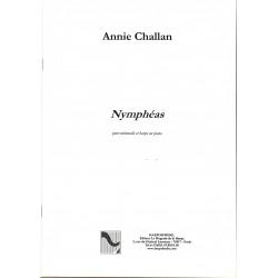 Annie Challan, Nymphéas