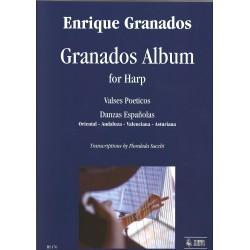 Enrique Granados - Granados Album for harp