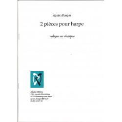 Agnès Alouges - 2 pièces pour harpe celtique ou classique
