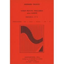 Bernard Galais - Vingt Petits Préludes pour harpe