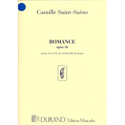 Camille Saint-Saëns - Romance Op. 36