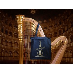 "TOTE BAG ""Let's play harp!"""