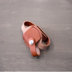 Porte clé en cuir pour clé standard Lyon&Healy