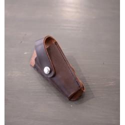 Porte clé en cuir pour clé ergonomique Lyon&Healy