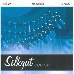 G - SOL 27 octave 4 Silkgut cuivre