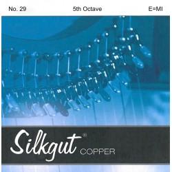 E - MI 29 octave 5 Silkgut cuivre