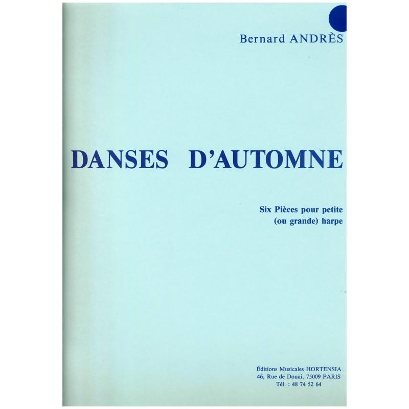 Bernanrd Andrès, Danses d'automne