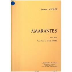 Bernanrd Andrès, Amarantes