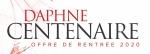 Daphné CENTENAIRE : offre de rentrée 2020