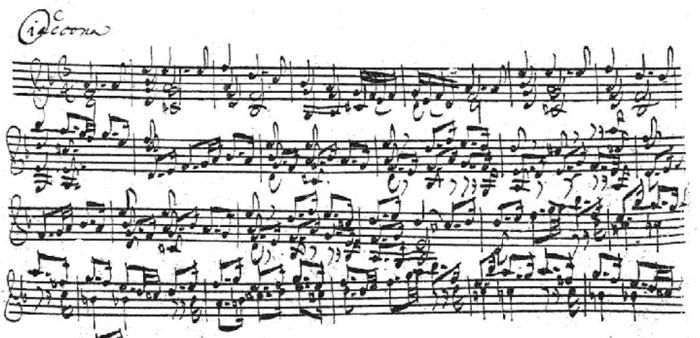 La Chaconne de J. B. Bach dans tous ses états