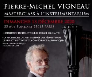 Masterclass de Pierre-Michel Vigneau