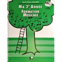 Marie-Hélène Siciliano, Ma 2ème année de formation musicale