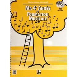 Marie-Hélène Siciliano, Ma 4ème année de formation musicale