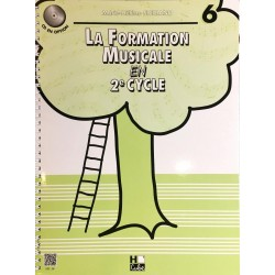 Marie-Hélène Siciliano, La formation musicale en 2ème cycle Volume 6