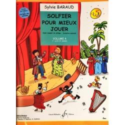 Sylvie Baraud, Solfier pour mieux jouer Volume 4, Livre de l'élève