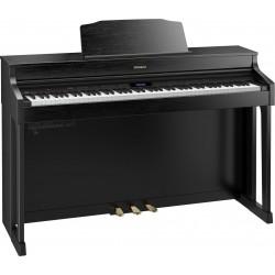 Roland HP-603A noir diagonale