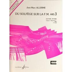Jean-Marc Allerme, Du solfège sur la FM 440.3, Lecture/Rythme, Livre de l'élève