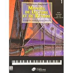 Jean-Christophe Sangouard, Manuel de lecture et de rythme Volume 1