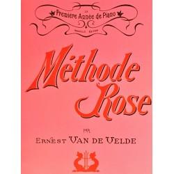 Ernest Van de Velde, Méthode rose