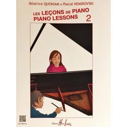 Béatrice Quoniam - Pascal Nemirovski, Les leçons de piano Volume 2