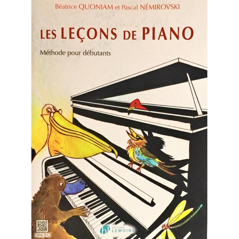 Béatrice Quoniam - Pascal Nemirovski, Les leçons de piano Volume 1