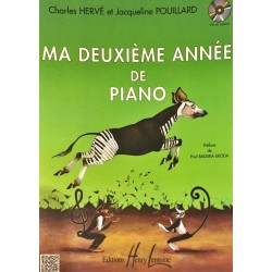 Charles Hervé - Jacqueline Pouillard, Ma deuxième année de piano