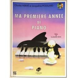 Charles Hervé - Jacqueline Pouillard, Ma première année de piano