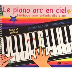 Chantal Muller-Simmerling, Le piano arc en ciel