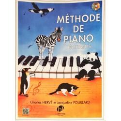 Charles Hervé et Jacqueline Pouillard, Méthode de piano