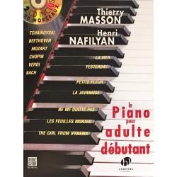 Thierry Masson - Henri Nafilyan, Le piano pour adulte débutant