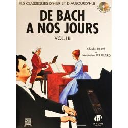Charles Hervé - Jacqueline Pouillard, De Bach à nos jours Volume 1B