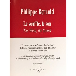 Philippe Bernold, Le souffle, le son