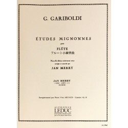 Giuseppe Gariboldi, Etudes mignonnes pour flûte