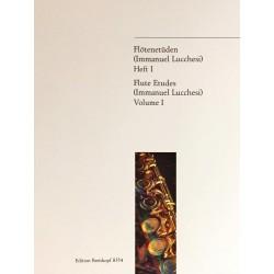 Immanuel Lucchesi, Flûte étude Volume 1