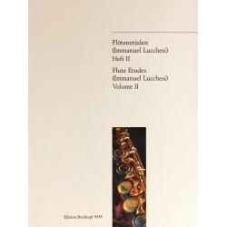 Immanuel Lucchesi, Flûte étude Volume 2