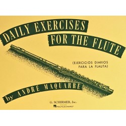 André Maquarre, Daily exercises for the Flute