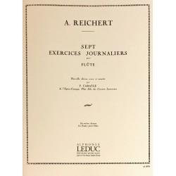 A. Reichert, Sept exercices journaliers pour flûte