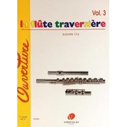 Isabelle Ory, La flûte traversière The flute Volume 3