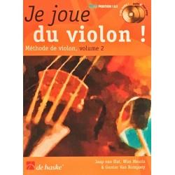 Jaap van Elst - Wim Meuris - Gunter Van Rompaey, Je joue du violon Volume 2