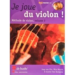 Jaap van Elst - Wim Meuris - Gunter Van Rompaey, Je joue du violon Volume 3