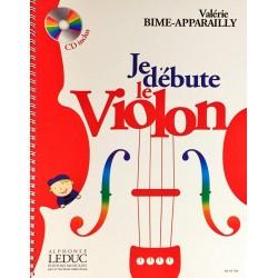 Valérie Bime-Apparailly, Je débute le violon