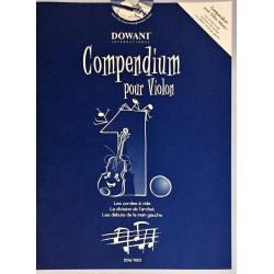 Compendium pour Violon Volume 1