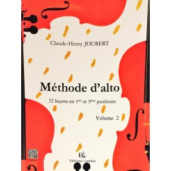Claude-Henry Joubert, Méthode d'alto Volume 2