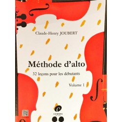 Claude-Henry Joubert, Méthode d'alto Volume 1