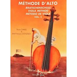 Bruno Garlej - Jean-François Gonzales, Méthode d'alto Volume 2