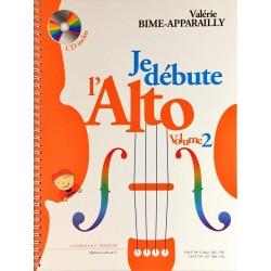 Valérie Bime-Apparailly, Je débute l'alto Volume 2