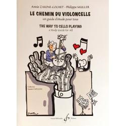 Annie Zakine-Cochet - Philippe Muller, Le chemin du violoncelle