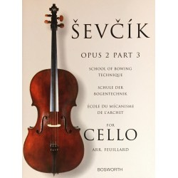 Sevcik for Cello Opus 2 Part 3