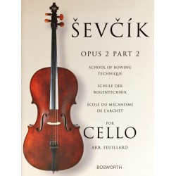 Sevcik for Cello Opus 2 Part 2