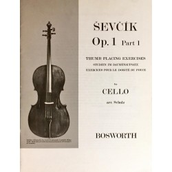 Sevcik for Cello Opus 1 Part 1